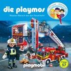 Die Playmos - Das Original Playmobil Hörspiel, Folge 57: Wasser Marsch bei der Feuerwehr (MP3-Download)