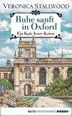Ruhe sanft in Oxford (eBook, ePUB)
