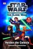 Star Wars, The Clone Wars - Helden der Galaxis (Mängelexemplar)