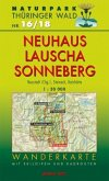 Wanderkarte Neuhaus, Lauscha, Sonneberg