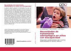 Necesidades de tratamiento odontológico en niños con discapacidad