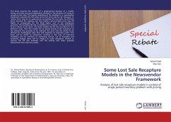 Some Lost Sale Recapture Models in the Newsvendor Framework