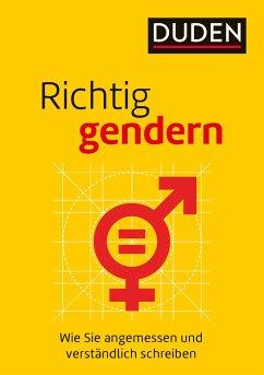 Richtig gendern - Steinhauer, Anja; Diewald, Gabriele