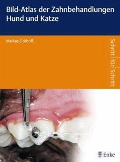Bild-Atlas der Zahnbehandlungen Hund und Katze - Eickhoff, Markus