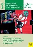 Untersuchungen zur Bewegungsstruktur der Wettkampfübung Reißen und der Trainingsübung Zug breit im Gewichtheben