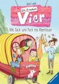 Mit Sack und Pack ins Abenteuer / Die frechen Vier Bd.3 (Mängelexemplar)