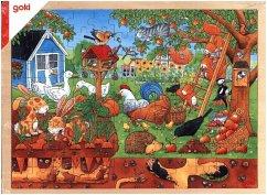 Unser Garten über und unter der Erde (Kinderpuz...