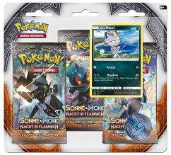 Pokemon, SM03 3-Pack Blister deutsch (Sammelkartenspiel)
