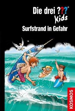 Surfstrand in Gefahr / Die drei Fragezeichen-Kids Bd.73 (eBook, ePUB) - Blanck, Ulf