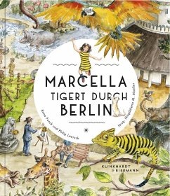 Marcella tigert durch Berlin - Funck, Anne; Loersch, Philip