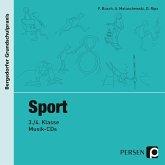 Sport - 3./4. Klasse, 2 Musik-CDs