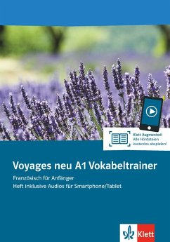 Voyages neu A1. Vokabeltrainer. Heft inklusive Audios für Smartphone/Tablet