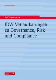 IDW Verlautbarungen zu Governance, Risk und Com...