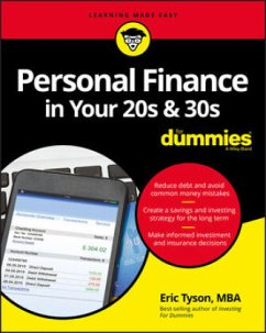 Personal Finance in Your 20s & 30s for Dummies - Tyson, Eric