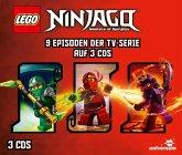 LEGO Ninjago Hörspielbox, 3 Audio-CD