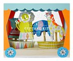 Silly Circus Cup Cake Kit