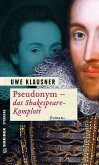 Pseudonym - das Shakespeare-Komplott (Mängelexemplar)
