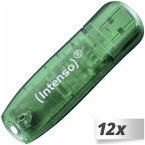 12x1 Intenso Rainbow Line 8GB USB Stick 2.0