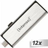 12x1 Intenso Mobile Line 8GB USB + micro USB 2.0 OTG