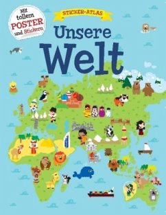 Unsere Welt - Sticker-Atlas