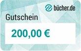 Geschenkgutschein 200 Euro (Motiv neutral)