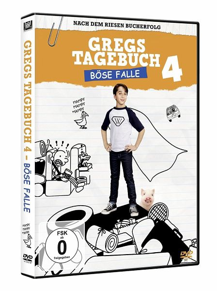Gregs Tagebuch 4: Böse Falle!