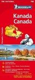 Michelin Karte Kanada; Canada