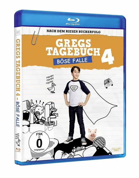 Gregs Tagebuch: Böse Falle!, 1 Blu-ray