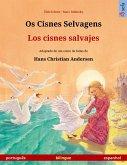 Os Cisnes Selvagens - Los cisnes salvajes (português - espanhol) (eBook, ePUB)