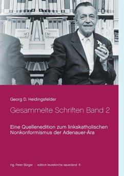 Gesammelte Schriften Band 2 (eBook, ePUB)