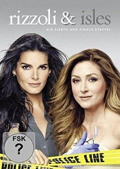 Rizzoli & Isles: Die komplette 7. Staffel (3 Discs) - Angie Harmon,Sasha Alexander,Jordan Bridges