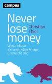 Never lose money (eBook, PDF)