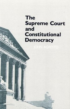 The Supreme Court and Constitutional Democracy (eBook, PDF)