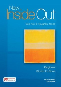 New Inside Out. Beginner. Student's Book with ebook and CD-ROM - Kay, Sue; Jones, Vaughan