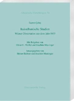 Italoalbanische Studien - Çabej, Eqrem