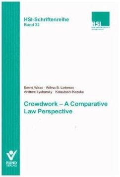 Crowdwork - A comparative Law Perspective