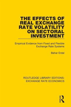 The Effects of Real Exchange Rate Volatility on Sectoral Investment (eBook, PDF)
