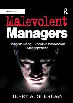 Malevolent Managers (eBook, PDF)