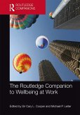 The Routledge Companion to Wellbeing at Work (eBook, ePUB)