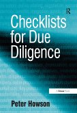 Checklists for Due Diligence (eBook, PDF)