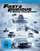 Fast & Furious - 8 Movie Collection BLU-RAY Box