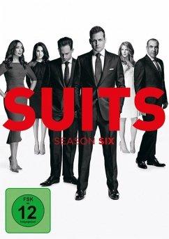 Suits - Season 6 DVD-Box - Gabriel Macht,Patrick J.Adams,Rick Hoffman