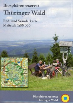 KKV Rad- und Wanderkarte Biosphärenreservat Thüringer Wald