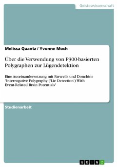 Über die Verwendung von P300-basierten Polygraphen zur Lügendetektion (eBook, PDF)