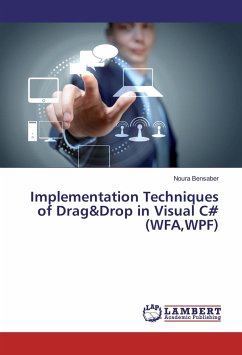 Implementation Techniques of Drag&Drop in Visual C# (WFA,WPF)
