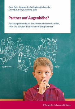 Partner auf Augenhöhe? (eBook, PDF) - Bischoff, Stefanie; Kayser, Laura B.; Betz, Tanja; Eunicke, Nicoletta; Zink, Katharina