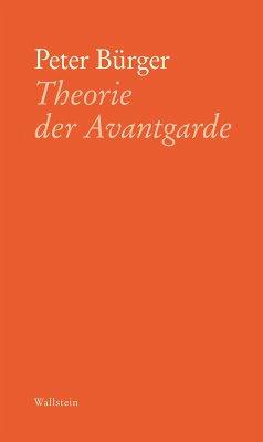 Theorie der Avantgarde (eBook, ePUB) - Bürger, Peter