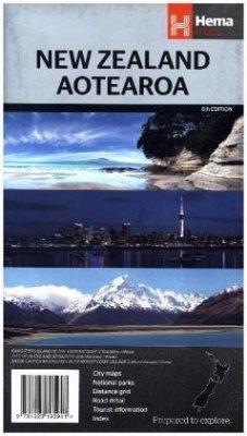 Hema Maps New Zealand; Aotearoa