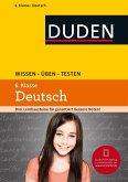 Wissen - Üben - Testen: Deutsch 6. Klasse (Mängelexemplar)