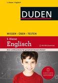 Wissen - Üben - Testen: Englisch 5. Klasse. Buch mit Online-Angebot und MP3-Download zum besseren Hörverständnis. (Mängelexemplar)